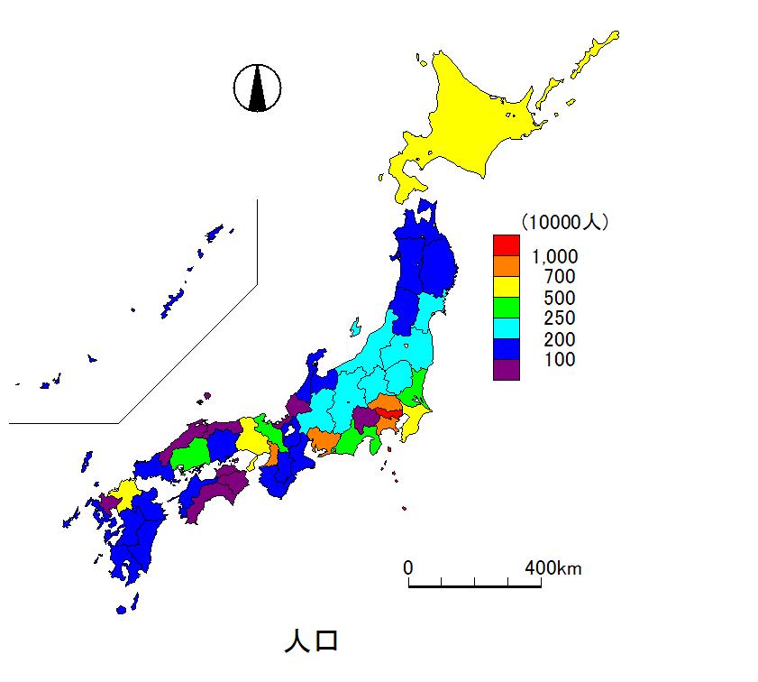 道府県 日本 地図 都